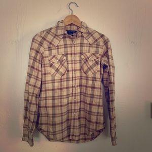Ralph Lauren slim fit western shirt. Sz 4
